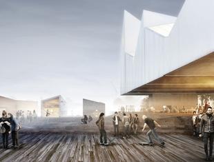 Domy na wodzie. Warszawska pracownia WXCA nagrodzona w międzynarodowym konkursie architektonicznym
