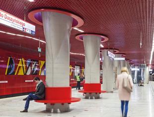 Druga linia warszawskiego metra
